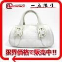 "Dior Lady Dior (carnage) leather Boston handbag white ""support."""