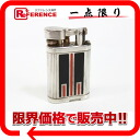Dunhill unique Turbo gas lighter busilver x black x Red s correspondence.""
