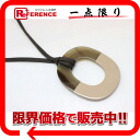 """Hermes extra-fine Isthme (ISM) pendant necklace brown / beige """"response."""""""