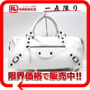 "Balenciaga bag ""the Twiggy"" white 125523 ""enabled."""
