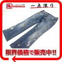 "Dolce & Gabbana d & g damage processing paint denim pants jeans women's 42 G 8515 ""response."""