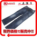 "Dolce & Gabbana d & g denim pants jeans women's 40 blue G8002 ""enabled."""