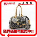 "Handbag Louis Vuitton Monogram Denim patchwork ""bowlie"" gli M95377 ""enabled."""