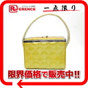 "Chanel enamel matelasse cosmetic handbags vanity bag gold system ""supports."""