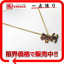 "Chanel 02A rhinestone Ribbon CC pendant necklace gold / purple ""response."""
