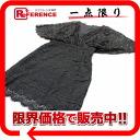 """Beyond vintage lace tunic dress XS black """"response."""""""