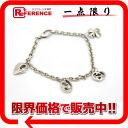 Gucci G logo heart charm bracelet silver 925 》 for 《