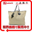 Gucci JOLIEI (Jolly) GG canvas x patent leather large tote bag beige × black 212003? s support.""