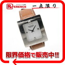 BE1.210 》 of HERMES change belt watch Lady's watch quartz Brown line for 《