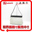 "Hermes ""your bag"" 2-WAY semishoulder bag Dalmation silver metal ""support."""