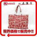 -Chanel Vichy line tote bag pouch case with red Mobile? s support.""