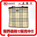Burberry burberry London check tote bag beige system X black 》 02P02Aug14 for 《