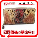 """Gucci SOHO (SOHO) Python zip around wallet Brown of 282413? s support."""""""