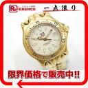 タグホイヤーセルシリーズプロフェッショナル 200M Lady's watch GP quartz WG1130-0 》 for 《