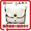 Burberry leather slant credit shoulder bag white 》 for 《