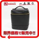 "Chanel leather vertical vanity bag black ""response."""