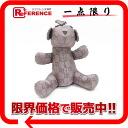 "Gucci Teddy bear type case GG nylon eco bag purple series 223669 like new ""support."""