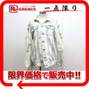 "JEANS sly jeans damage breach processing denim jacket 1 white series ""correspondence."""