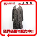 Burberry London Womens check pattern trench coat 36 Brown? s support.""