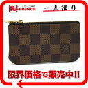 "Louis Vuitton Damier ""key and change holder"" pennies put the combined key holder N62658? s support."""