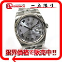 "Rolex Datejust 116234 new. Mens Watches SS×WG automatic winding like roulette random new ""support."""