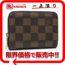 "Louis Vuitton Damier ""zippy coin purse"" coin purse N63070 ""enabled."""