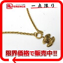 "Chanel CC pendant necklace gold ""support."""