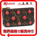 "Louis Vuitton Monogram cherry ""key and change holder"" pennies put the combined key case M95042 ""enabled."""