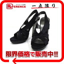 "Balenciaga peep toe heels Sandals 36 1 / 2 black not used ""for."""