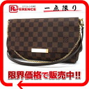 "Louis Vuitton Damier favorite PM 2WAY shoulder bag N41276 unused ""response."""