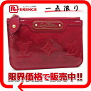 "Louis Vuitton Vernis coin put the combined key case ""key and change holder NM"" rose and an M91669 ""enabled."""