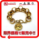 "Chanel Coco make chain ring bracelet gold ""response."""
