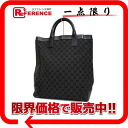 "Gucci GG canvas tote bag black ""response."""