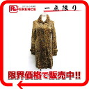 Louis Vuitton fake fur Leopard pattern ladies coat F Brown? s support.""