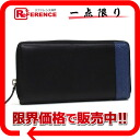 Calf leather zip around wallet black Gucci MISTRAL (Mistral) × Blu 307993, capable.""