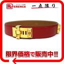 """Hermes cored cyan medal belt 70 kshber x Bock scarf red x gold gold metal V inscribed """"support."""""""