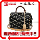 "Louis Vuitton martage ""dock BB"" 2WAY shoulder bag Noir M50011 ""enabled."""
