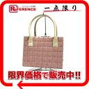 "Chanel plastic puzzle design mini handbag pink / beige ""response."""