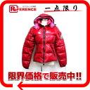 """MONCLER BADIA (Badia) women's Hooded down jacket 2 red series x pink """"response."""""""