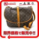 """Louis Vuitton Monogram shoulder bag """"Saumur 35"""" M42254 """"enabled."""""""