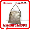 "Cartier Marcello leather 2-WAY bag gold L1001222 ""enabled."""