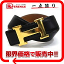 "Hermes H belt reversible 60 box Cafe black / natural / gold hardware Y ever-changing beauty products ""enabled."""