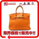 """Premier handbag Hermes """"Birkin 35"""" triyoncremans potillon gold bracket I carved """"response."""""""