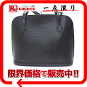 """Lussac"" Louis Vuitton EPI leather shoulder bag Creel black M52282 ""enabled."""