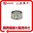 "Louis Vuitton ""Berg-Champs-Elysees"" ring M silver M65455 ""enabled."""