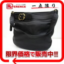 Owned by GUCCI Gucci leather shoulder bag black 269960
