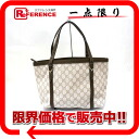 "Gucci nice GG Supreme canvas tote bag white / beige / Brown 336776 beauty products ""enabled."""