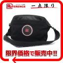 "Chanel sport line nylon / suede perforated shoulder bag black ""response."""