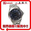 "Omega Seamaster chronometer 120 mens watch SS blue character machine automatic ""response.""-fs3gm02P05Apr14M"