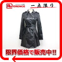"DURAS ambient goatskin leather trench coat F black beauty products ""enabled."""